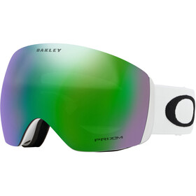 Oakley Flight Deck Snow Goggles Herre matte white/prizm jade iridium